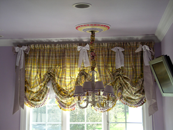 Custom Balloon Drapes